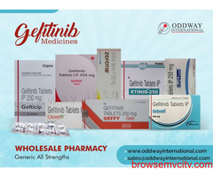 Gefitinib 250mg tablet price in India, China, Russia