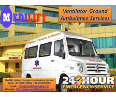 Hassle-Free Patient Transfer Ambulance Service in Katihar – Medilift