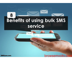 Benefits of using Bulk SMS Service