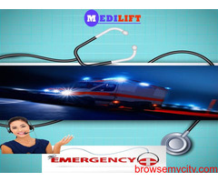 The Best Low Fare Ambulance Service in Madhubani with Medical Team