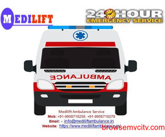 Now Easily Avail Low-Cost Medilift Ambulance Service in Darbhanga