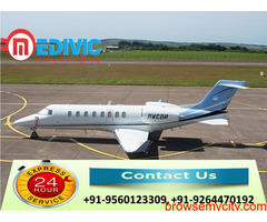 Choose High-Level Medivic Air Ambulance in Bangalore with MD Doctor