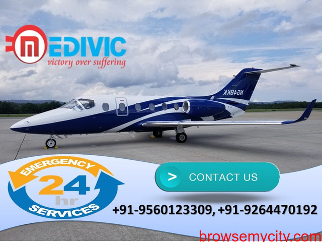Get Valuable Medical Support by Medivic Air Ambulance in Delhi - 1/1