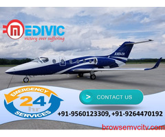 Get Valuable Medical Support by Medivic Air Ambulance in Delhi
