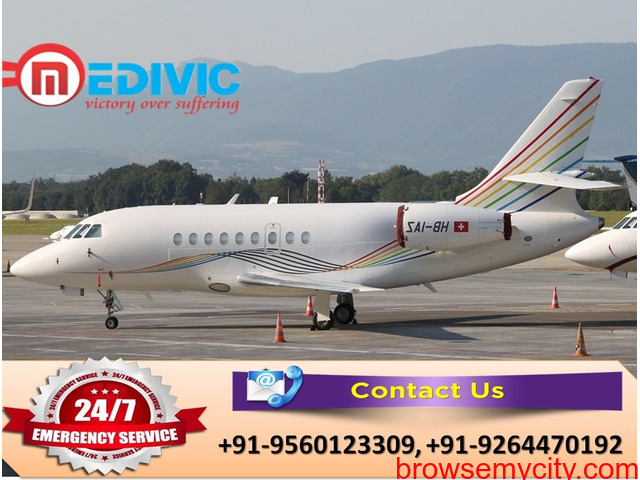 Utilize Complete Medical Solution by Medivic Air Ambulance in Kolkata - 1/1