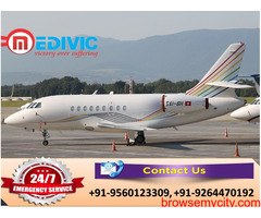 Utilize Complete Medical Solution by Medivic Air Ambulance in Kolkata