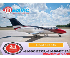Now Hire Phenomenal Emergency Air Ambulance in Varanasi at Low-Cost