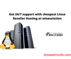 Get Linux Reseller Hosting with Advanced Features