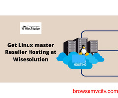 Get Linux master Reseller Hosting at Wisesolution