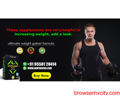 These supplements are very helpful in increasing weight, add a look.