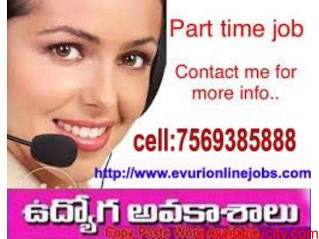 Part Time Home Based Data Entry Typing Jobs - 1/1