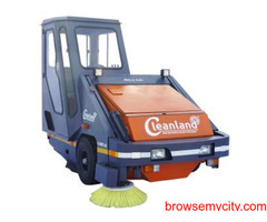 Wide Range Diesel Operated Road Sweeping Machine