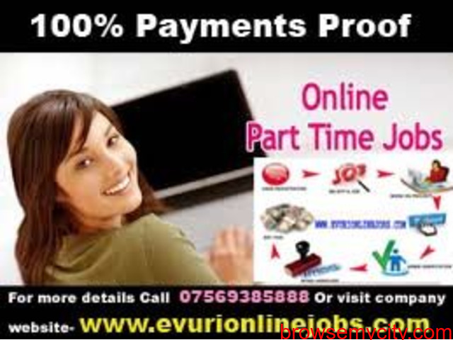 Part Time Home Based Data Entry Typing Jobs - 4/6