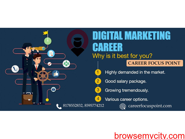 Online Digital Marketing Training Institute in Delhi| Career Focus Point - 1/1