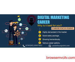 Online Digital Marketing Training Institute in Delhi| Career Focus Point