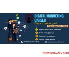 Online Digital Marketing Training Institute in Delhi| Career Focus Point