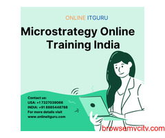 Microstrategy Training in onlineitguru