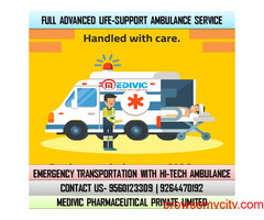Receive Topmost Emergency Ambulance Service in Bokaro by Medivic