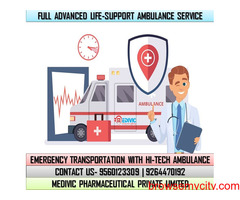 Use the Most Superior Ambulance in Ranchi at a Very Less Price