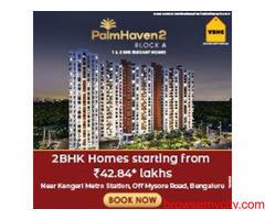 2 BHK flats in Kengeri Mysore road | VBHC Palmhaven2