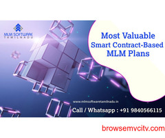 Most Valuable Smart Contract-Based MLM Plans-MLM software Tamilnadu