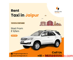 Hire taxi in jaipur For Going  home