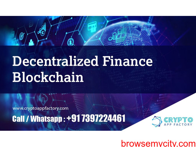 Decentralized Finance Blockchain-Crypto App Factory - 1/1