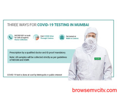Metropolis Labs Offering COVID Testing in Delhi & NCR at ICMR Approved Cost