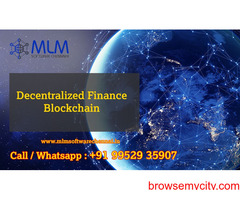 Decentralized Finance Blockchain-MLM software chennai