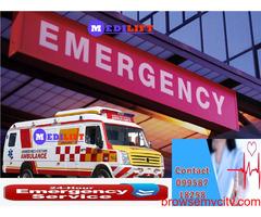 Easily Avail Medilift Ambulance in Samastipur – Medical Team