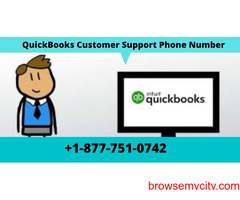 Dial QuickBooks Support Number +1-877-751-0742 for premium support service