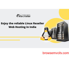 Buy Linux Reseller Hosting with advanced features at wisesolution