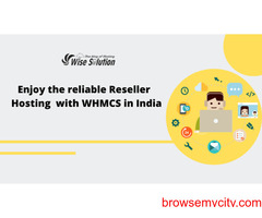 interrupted Reseller hosting with WHMCS at Wisesolution