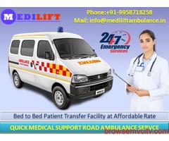 Medilift – The Fastest Ambulance Service in Darbhanga