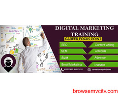 Top Digital marketing Institute in India| Career Focus Point