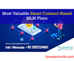 Most Valuable Smart Contract-Based MLM Plans-Crypto App factory