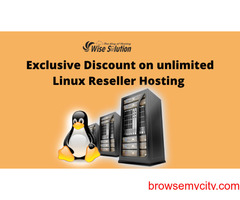 Exclusive Discount on unlimited Linux Reseller Hosting in Wisesolution