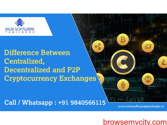 Difference Between Centralized, Decentralized and P2P Cryptocurrency Exchange - 1/1