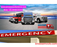 Choose Ambulance Service in Patna with Advanced Medical Tools