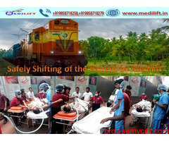 Use Immediate Emergency Train Ambulance in Guwahati at Low Cost