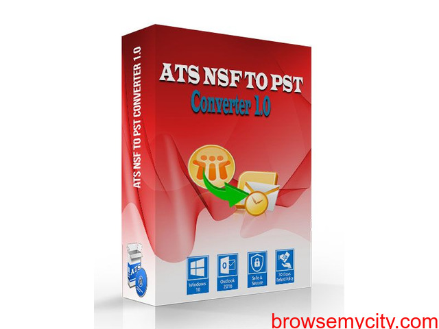 Free NSF to PST Converter - 1/1
