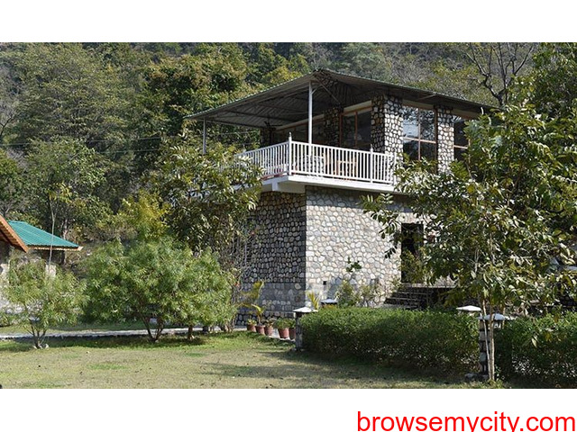 Luxury Accommodation in Jim Corbett | Best Adventure Resort in Jim Corbett | The Wild Heritage - 1/1