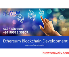 Ethereum Blockchain Development-MLM software chennai