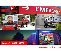 Book Ambulance Service in Pundag with Modern Medical Tools