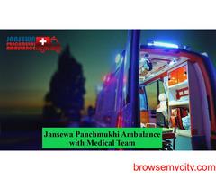 Use Ambulance Service in Purulia Road at a Minimum Cost