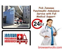 Pick the nearest road Ambulance Service in Kishoreganj