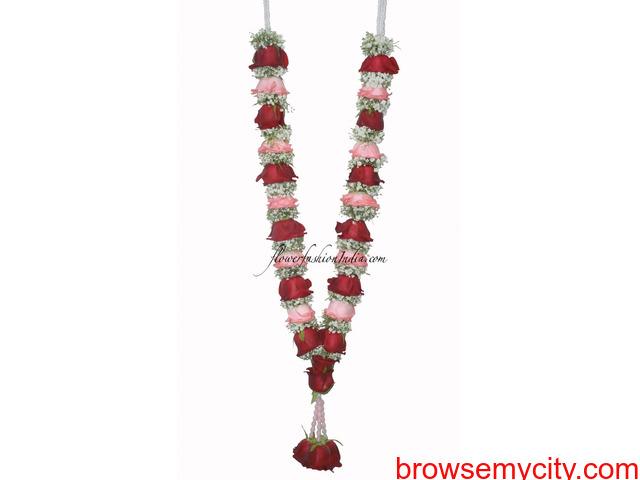 Indian Wedding Garlands Online, Jasmine Flower Gajra, Indian Wedding Garlands - 3/6