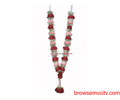Indian Wedding Garlands Online, Jasmine Flower Gajra, Indian Wedding Garlands