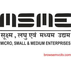 MSME, Udhyog Aadhar, Udyam Registration in Jaipur Rajasthan