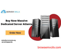 Buy Now Massive Dedicated Server Atlanta with Discount
